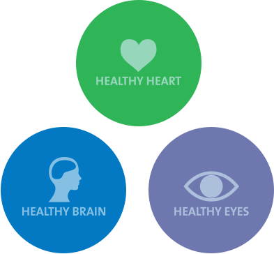 healthy hearth eyes brain
